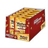 Werther's Original Caramel Popcorn (12 x 140g) / Popcorn mit Sahne-Karamell-Überzug