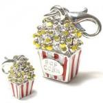Popcorn Bettelarmband, kleiner origineller Anhänger