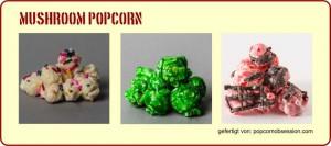 Verschiedene Toppings - Popcorn