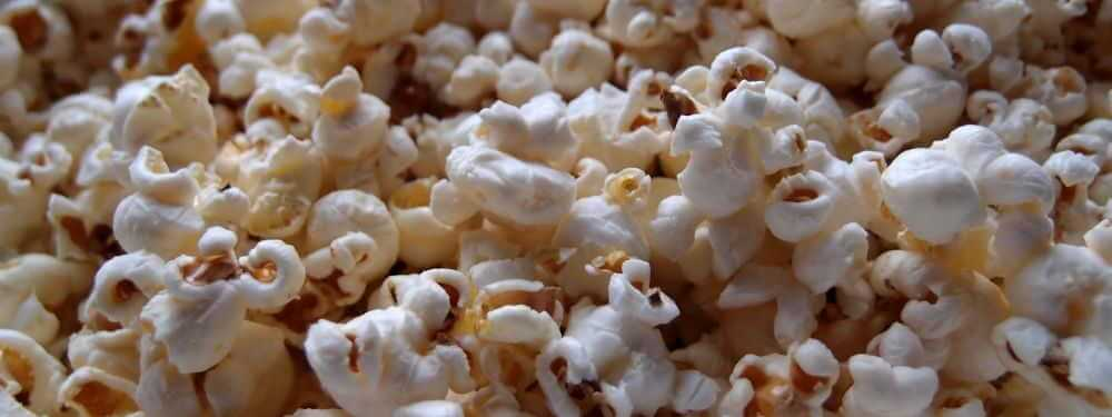 fertiges Popcorn