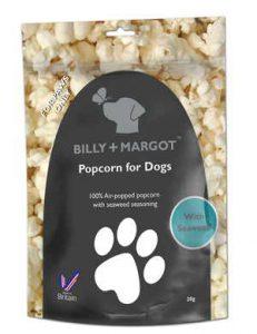 hundesnack popcorn