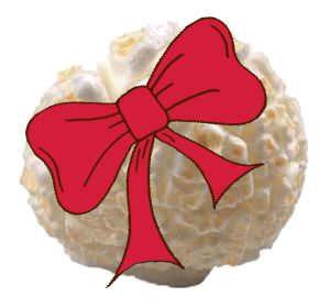 Popcorn als Geschenk