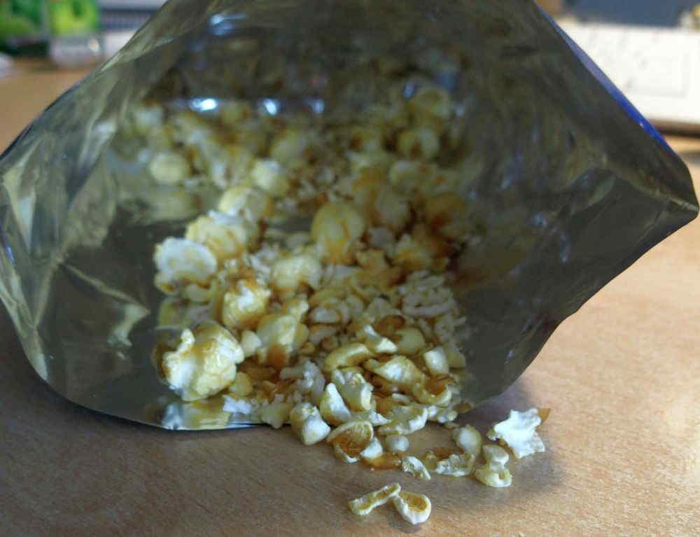 Viel Popcornbruch